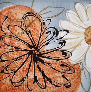 Carreau Décoré Nature Fleurs-2-2