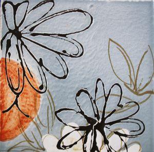 Carreau Décoré Nature Fleurs-2-3