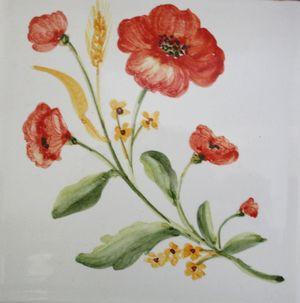 Carreau Décoré Nature Fleurs-2-5