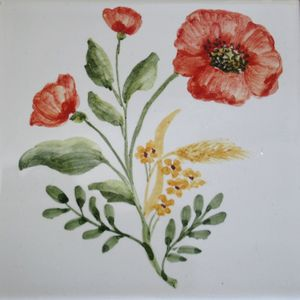 Carreau Décoré Nature Fleurs-2-6