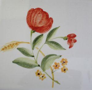 Carreau Décoré Nature Fleurs-2-7