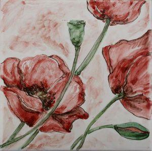 Carreau Décoré Nature Fleurs-2-8