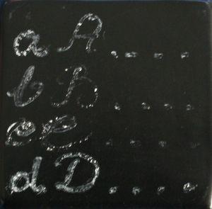Tableau noir 3