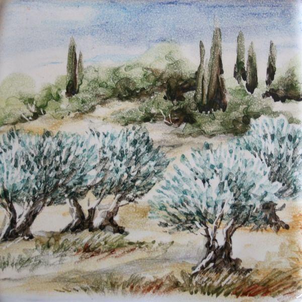 Paysage provençal 4