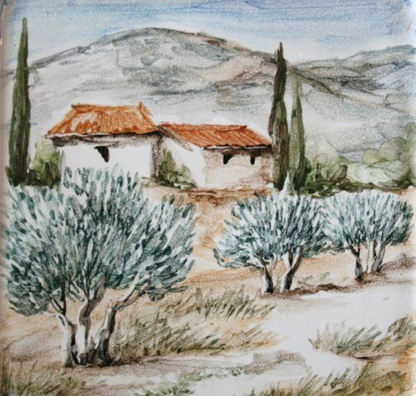 Paysage provençal 8