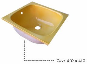 Cuve 410 x 410
