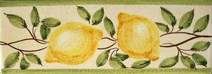Frise citrons