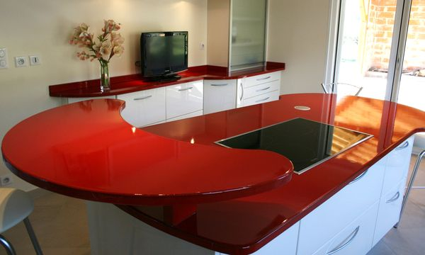 Chaise Cuisine Fer : Related Pictures of Plan de Travail Cuisine Quartz Rouge