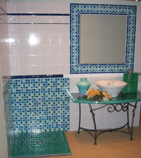 Beautiful Salle De Bain Orientale Bleue Pictures - House ...
