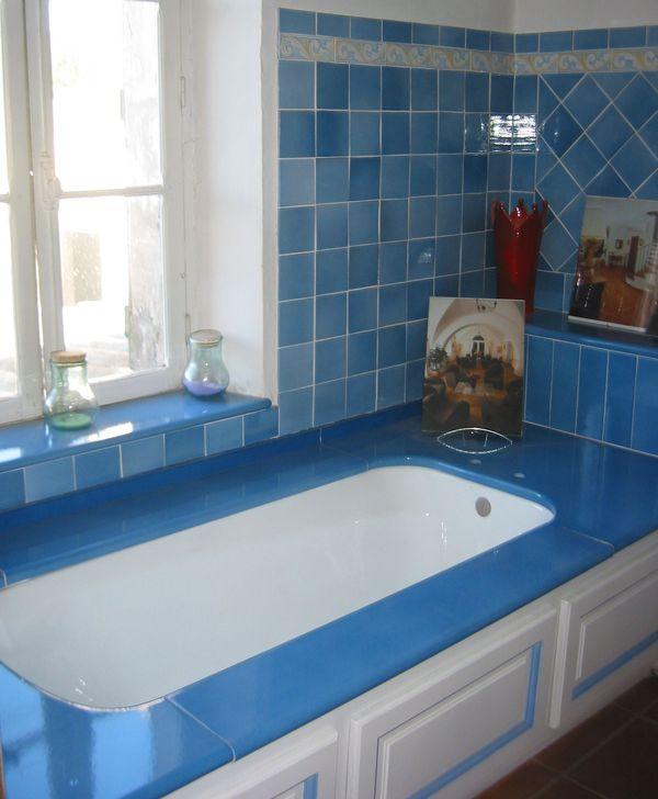 Evier pierre lave emaill e sur mesure cuisine salle de for Carrelage en pierre de lave