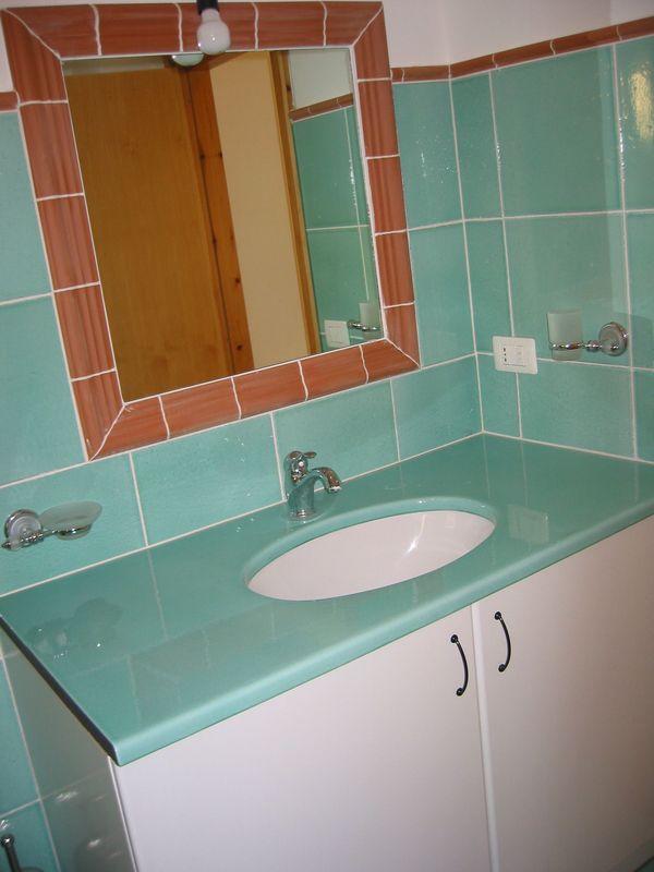 Salle de bains lave Vert Ary